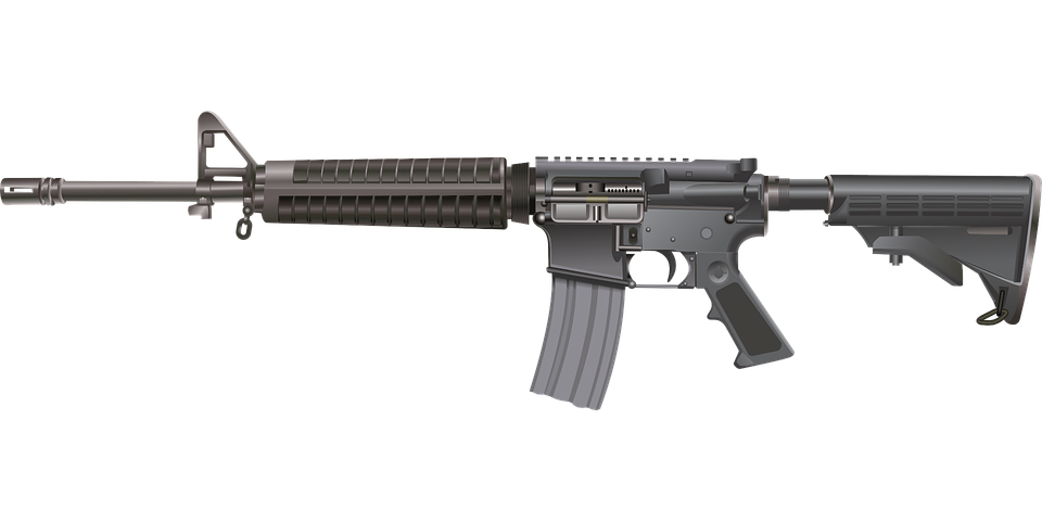 M16 Ar-15 Rifle - Free vector graphic on Pixabay