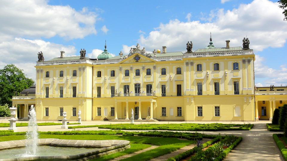 Pałac, Branickich, Białystok, Architektura, Zabytek