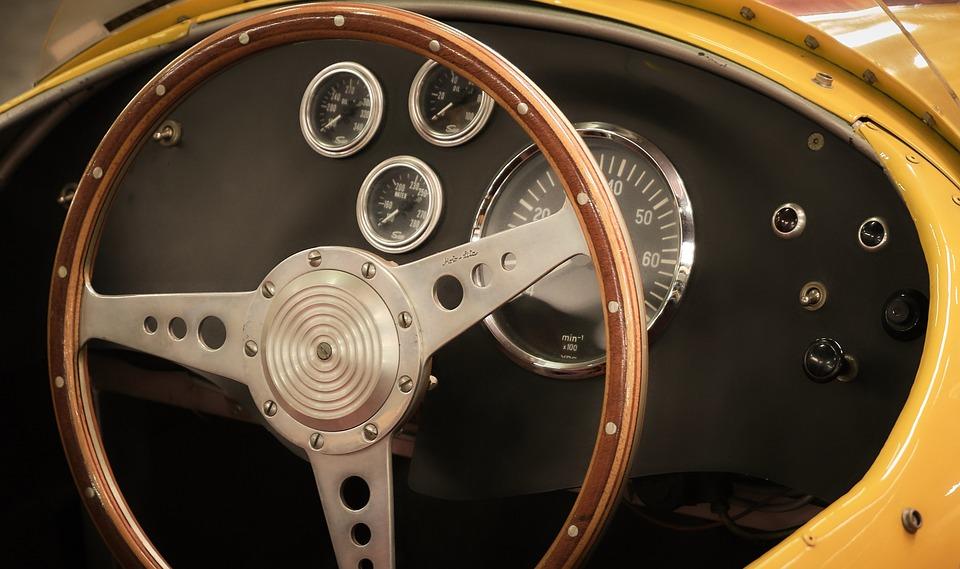 Cockpit Auto Steering Wheel - Free photo on Pixabay