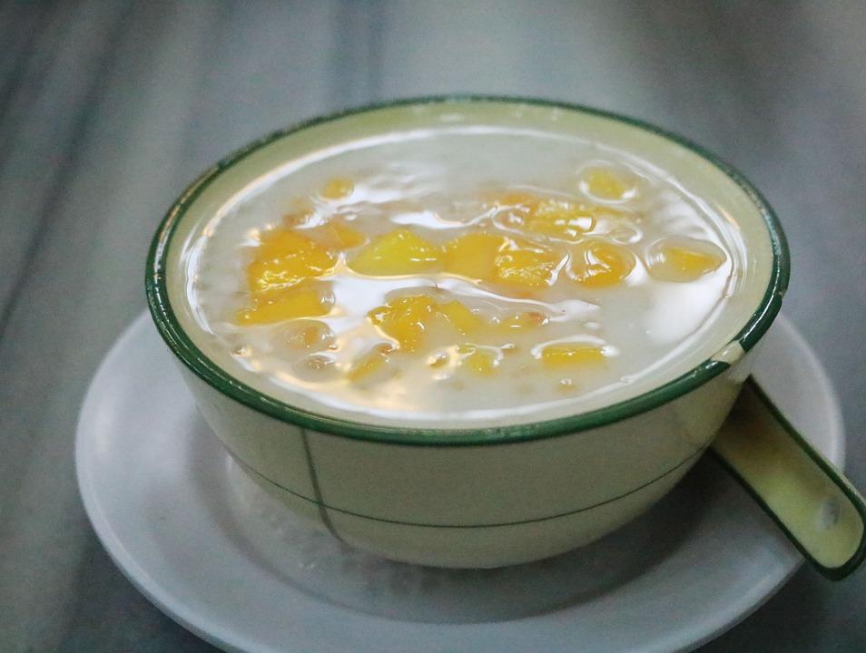 美食, 甜品, 糖水, 玉米, 广州, Food, Delicious, Sweet, Milk