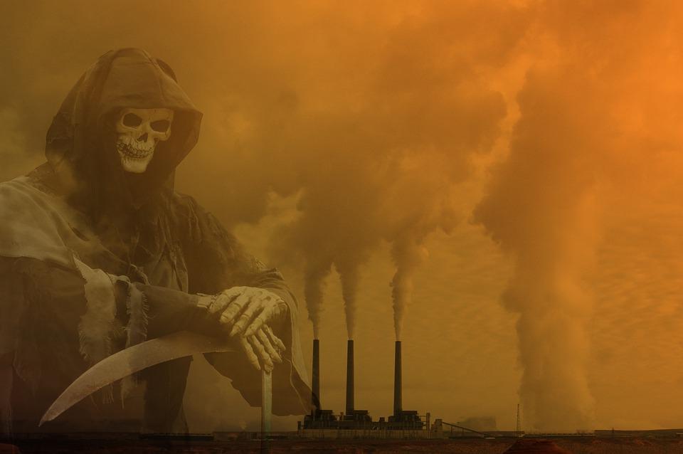 La Pollution, Catastrophe, Environnement, Apocalypse