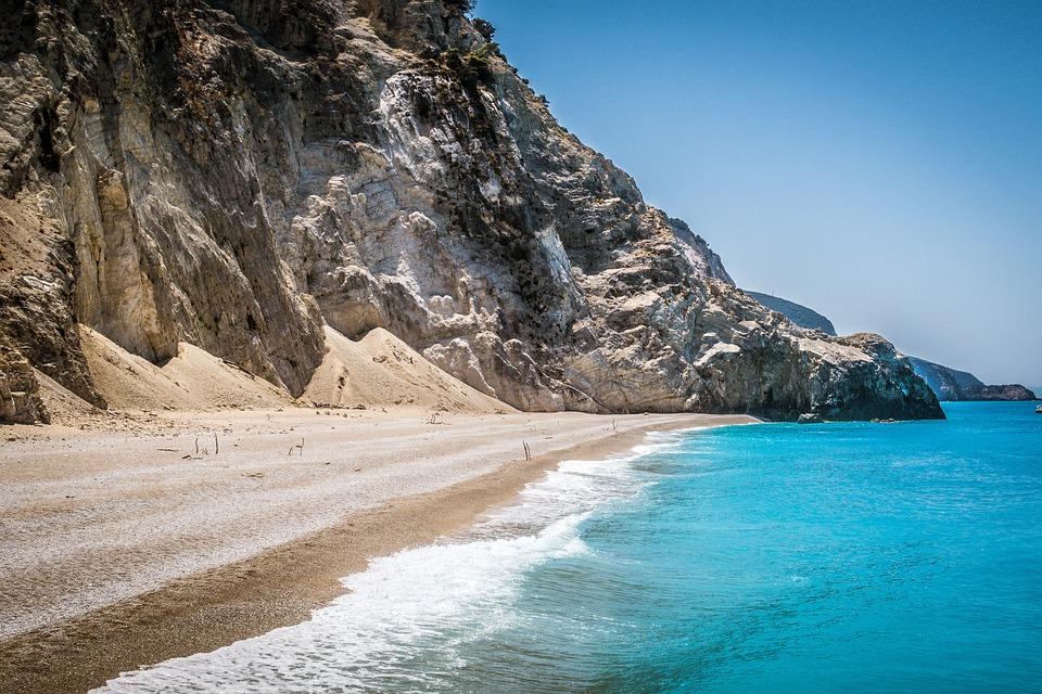 Greece, Islands, Sea, Nature, Egremni, Lefkada, Tourism