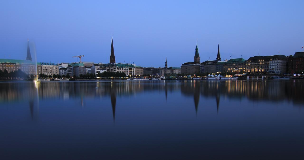 Гамбург фото города в сентябре