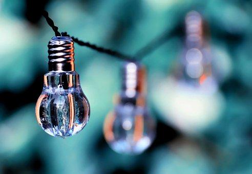 電球, カラフル, ランプ, 光, エネルギー, 自然, 環境, 生態学