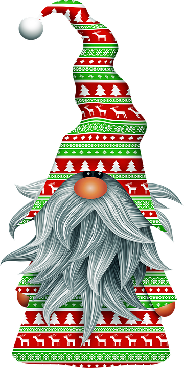 Christmas Gnomes Clipart.Scandia Gnome Christmas Old Free Image On Pixabay