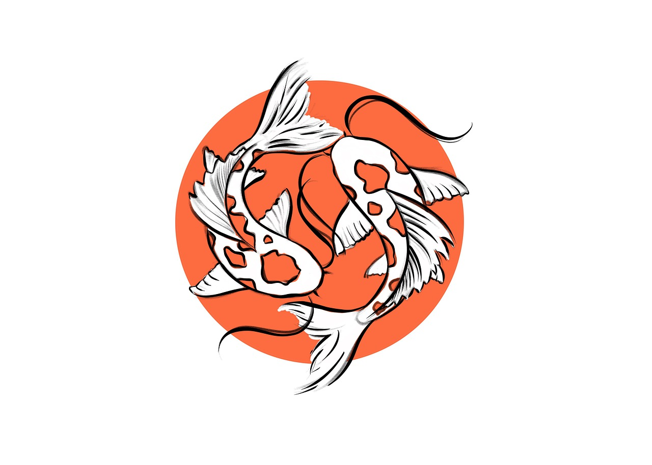 Koi Fish Painting Japanese - Free image on Pixabay