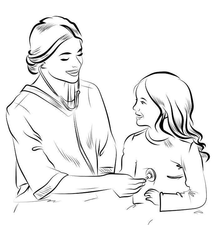 Dibujo Enfermera Salud Dibujos Imagen Gratis En Pixabay