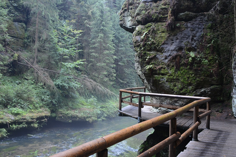 Trekking w Czeskiej Szwajcarii