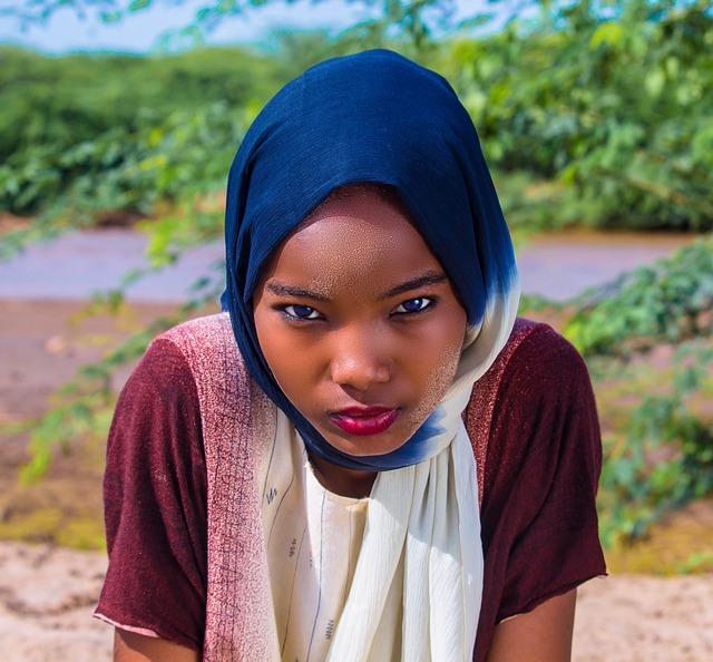 Sexy somalian girl