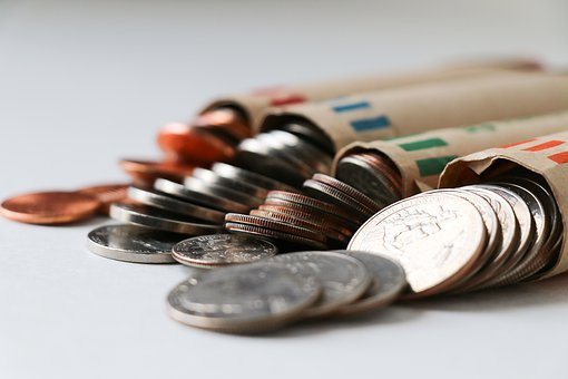 Coins, Currency, Finance, Business