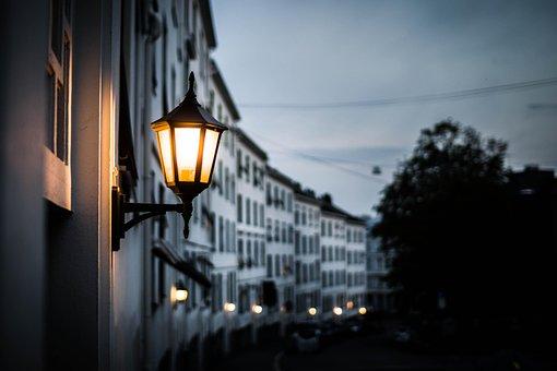 ランプ, ランプ ポスト, 泊, 夜, ランプ, ランプ, ランプ, ランプ