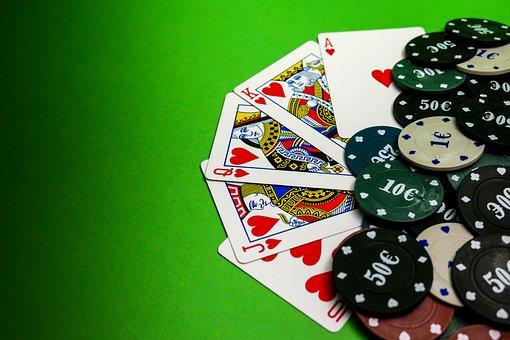Cards, Game, Poker, Peak, Worms, Diamond