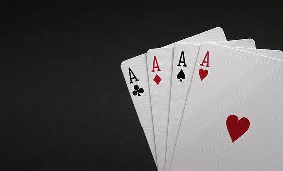 Card, Game, Poker, Peak, Worms, Karo