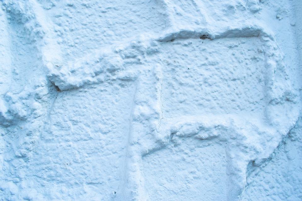 構造, 石膏, 外壁, 白, 粗面, ファサード, クローズアップ, 塞ぎます