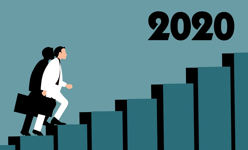 New Year, 2020, Happy New Year, Start, Success, Path