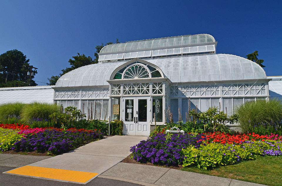 Seattle, Volunteer Park, Conservatory, Botanical - period homes extension - conservatory