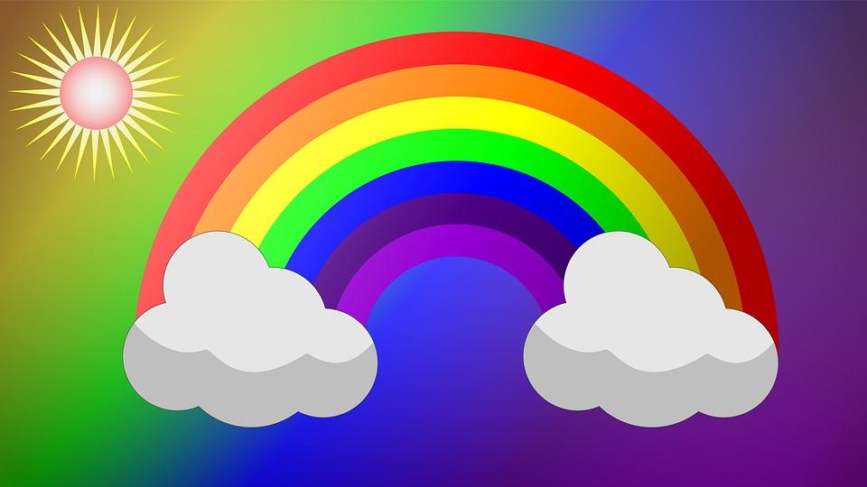 Arc En Ciel Nuage Dessin Animé Image Gratuite Sur Pixabay