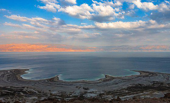 Sea, Dead Sea, Israel, Nature, Sand
