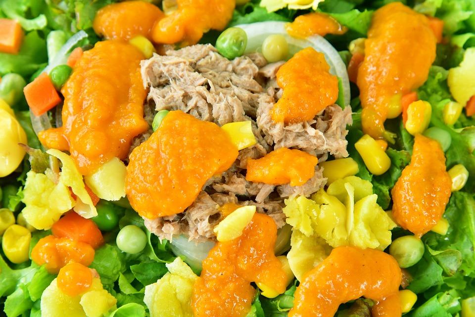 Tuna Corn Salad