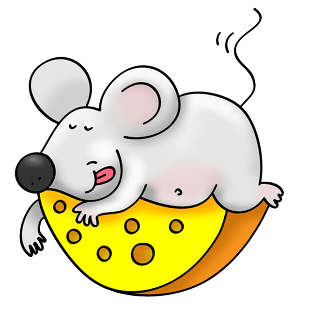 Картинка сыр и мышь