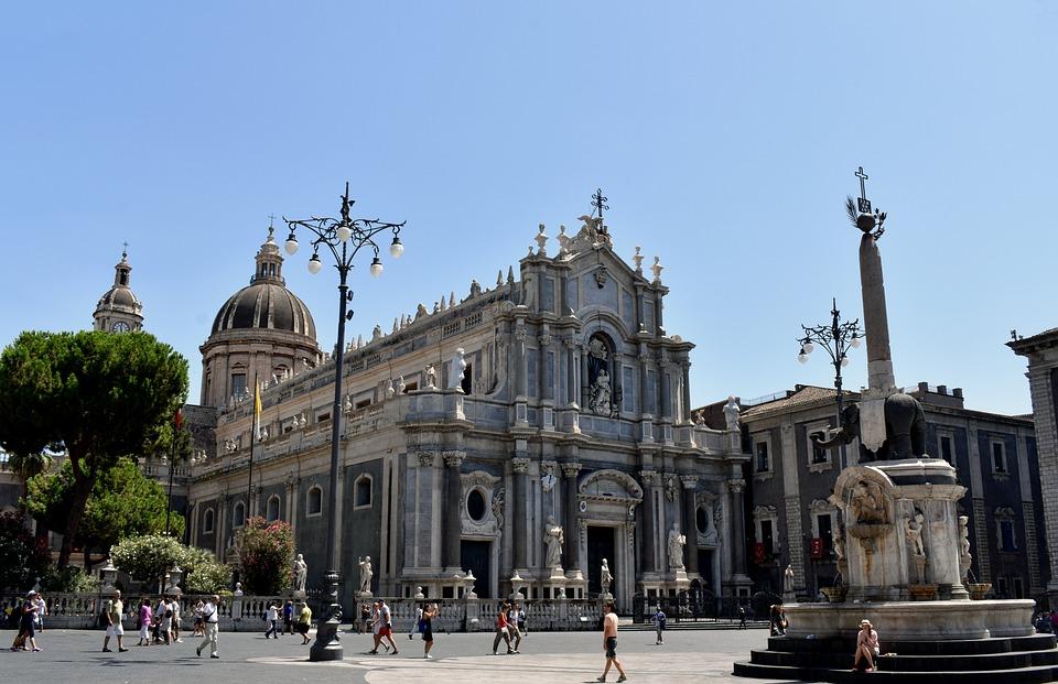 Marble Stone, Facade, Mediterranean, Summer, Art, Saint