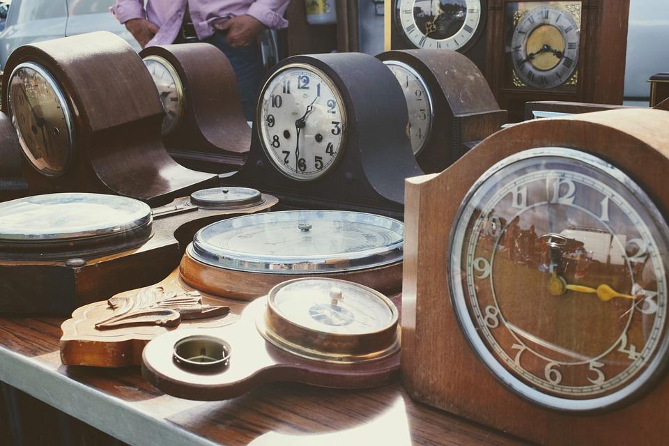 時, 時間, 時計, タイミング, 骨董品, 公正です, 販売, クロック