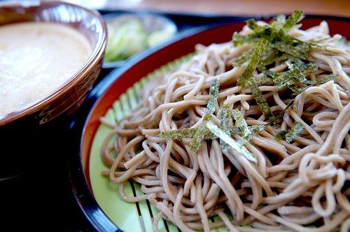 蕎麦, 和食, 食品, 麺料理, 料理, グルメ, 食事, 日本食, 和風