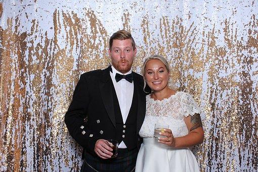 Wedding, Photo Booth, Bride, Groom