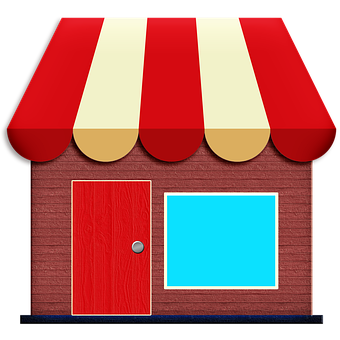 Store Icon, Awning, Exterior, Shop