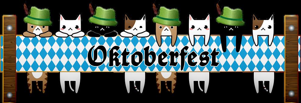 Oktoberfest Cats, Alpine Hats