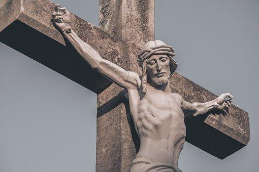 Jesus, Cross, Floor Cross, Christ