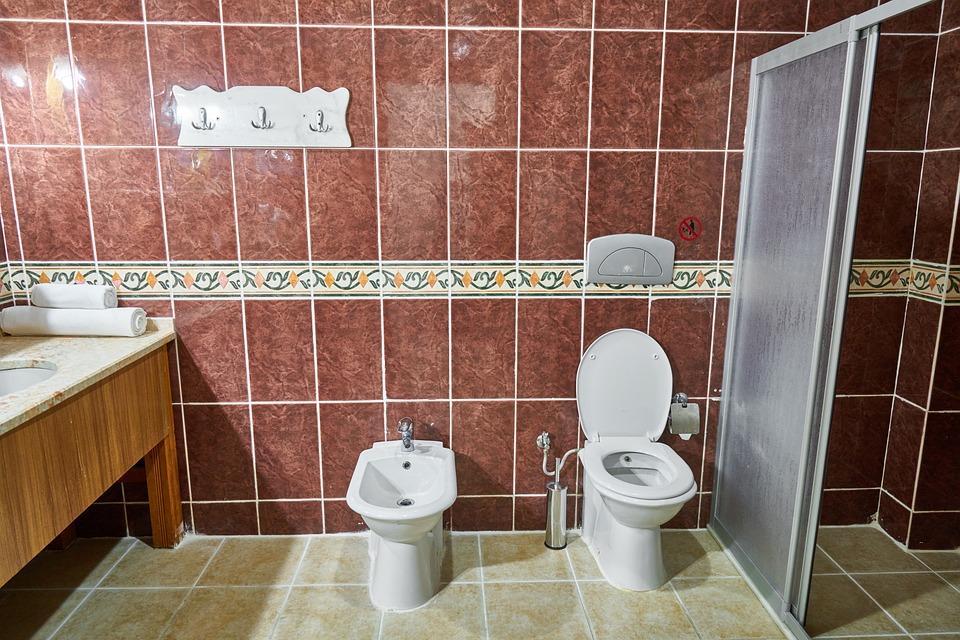 Cuarto De Baño Inodoro Azulejos - Foto gratis en Pixabay