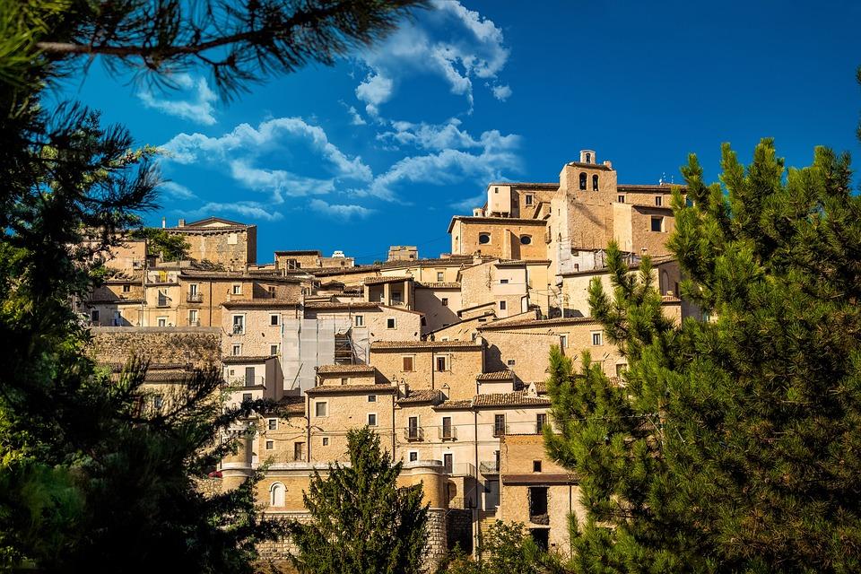 Borgo, Historiker, Italien, Architektur, Landschaft