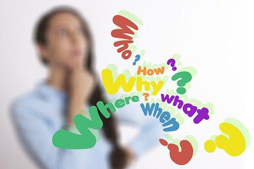 Kérdez, Who, Mit, Hogyan, Miért, Ahol
