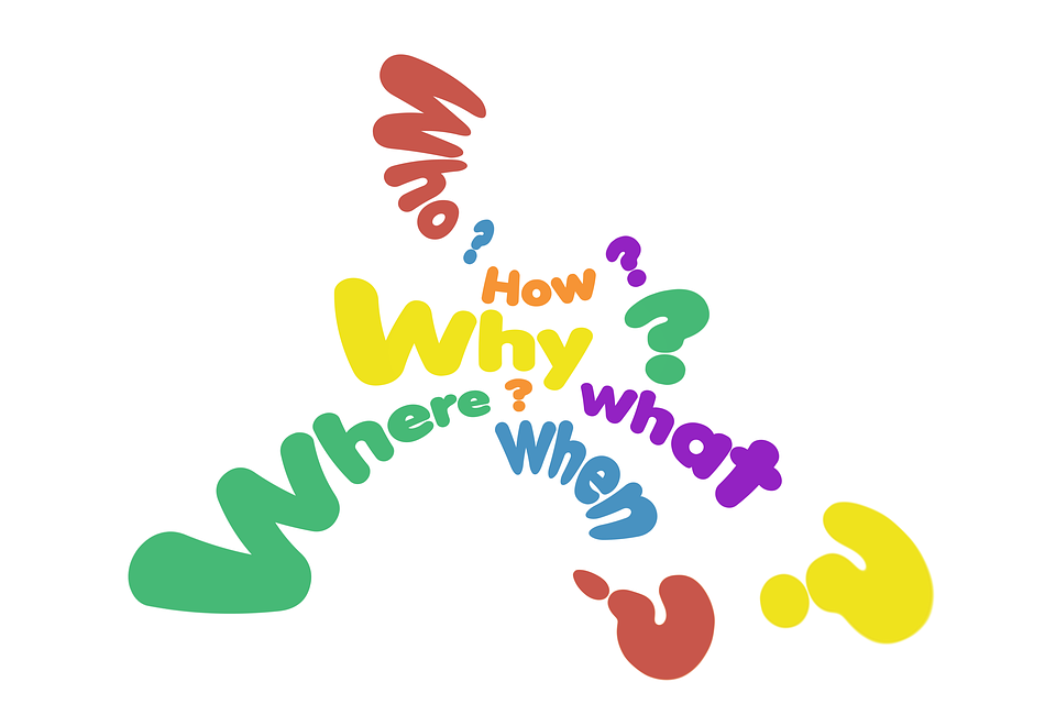 Questions Who What - Free image on Pixabay