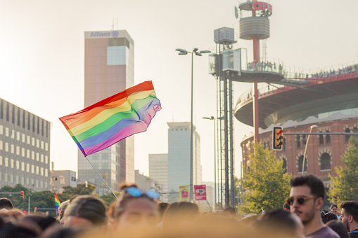 Barcelona, Bandera, Orgullo, Gay, Lgbt
