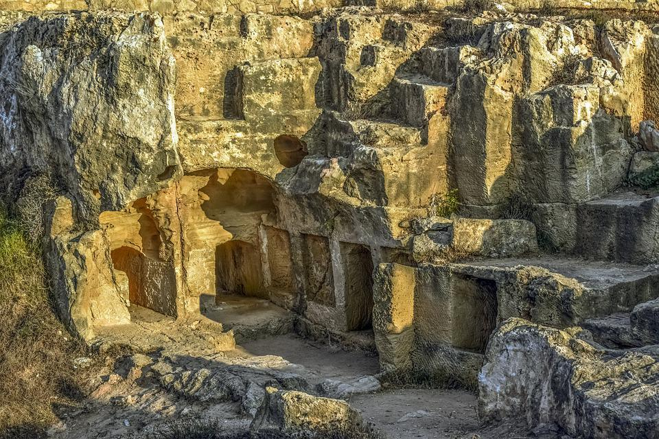 Cyprus, Paphos, Tombs Of The Kings, Archeology