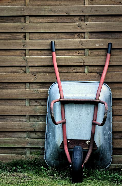 the Ponteland Wheelbarrow Race
