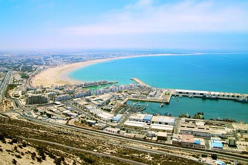 Agadir, Morocco, Africa, Sea, Beach