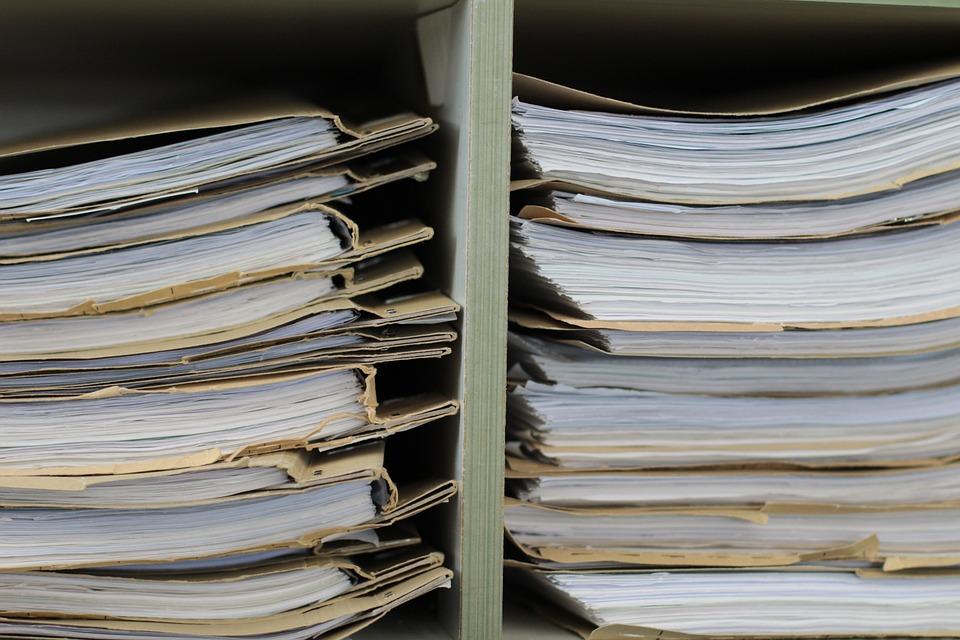 ファイル, ファイルを棚, 紙, オフィス, 計画, 書きます, 仕事, ペーパーワーク, ワークプ レース
