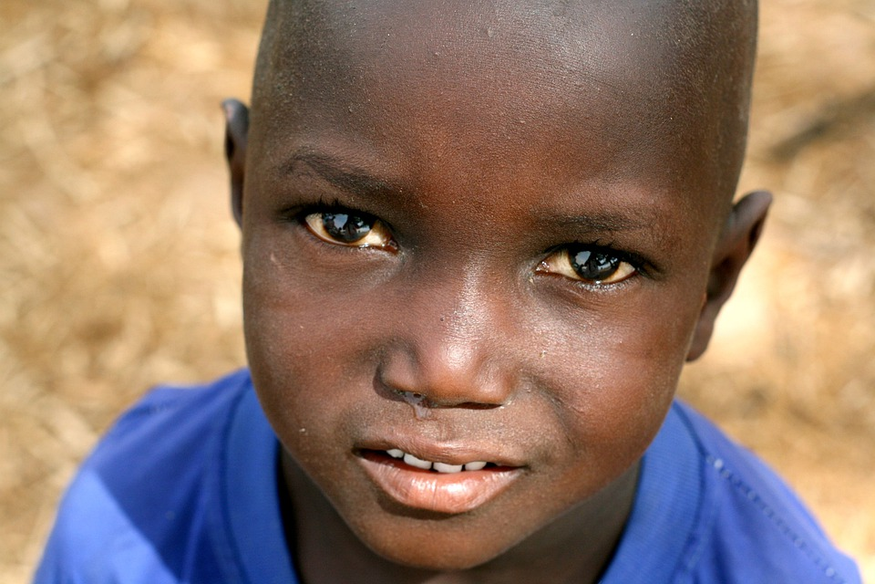 Senegal, Portrait, Child, Black, Africa, Model