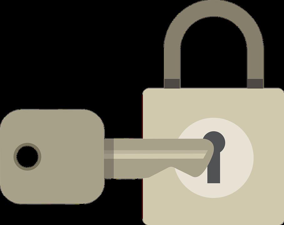 Lukko Salasana Avain Kirjaudu - Ilmainen vektorigrafiikka Pixabayssa