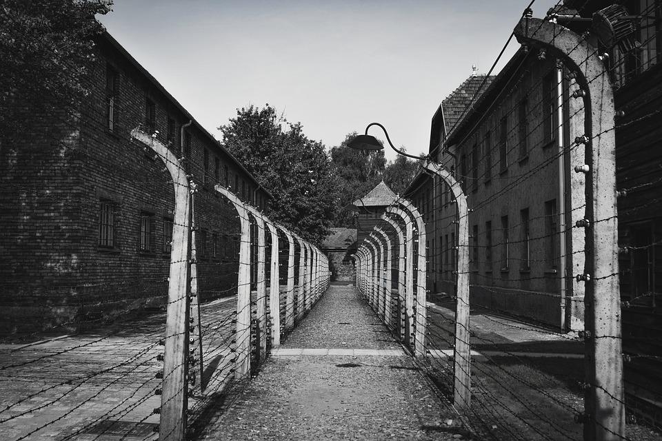Auschwitz, Obóz Koncentracyjny, Budynków, Horyzonty