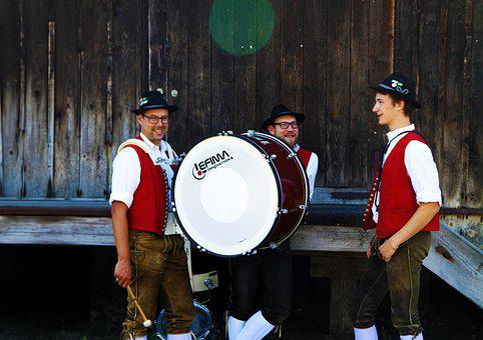 Brass Band, Music Band, Music, Drum