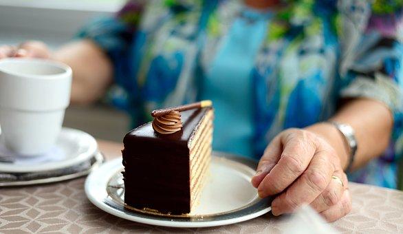 Torta, Pezzo Di Torta, Cafe