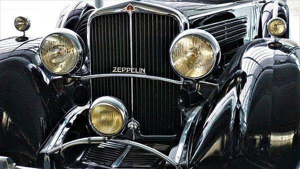 Maybach, Zeppelin-Vintage, Auto, Light