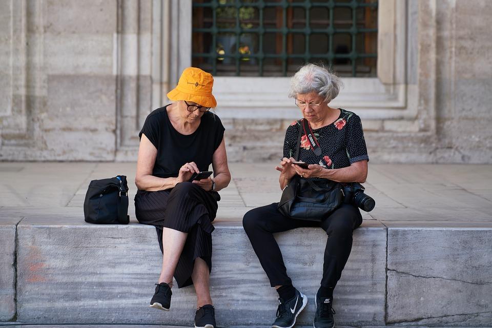 Viejo, Mujer, Turismo, Viajes, Relajarse, Cultura