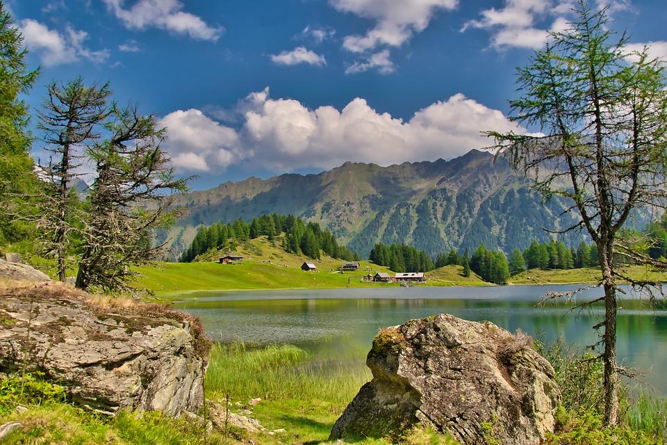 Pemandangan Pegunungan Alam