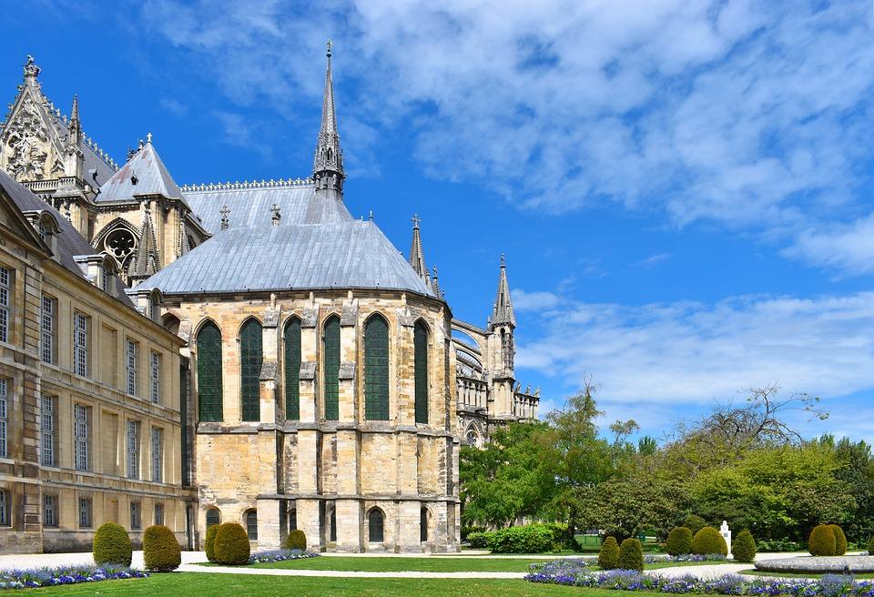 Cathedrale, Jardin, Parc, Église, Architecture