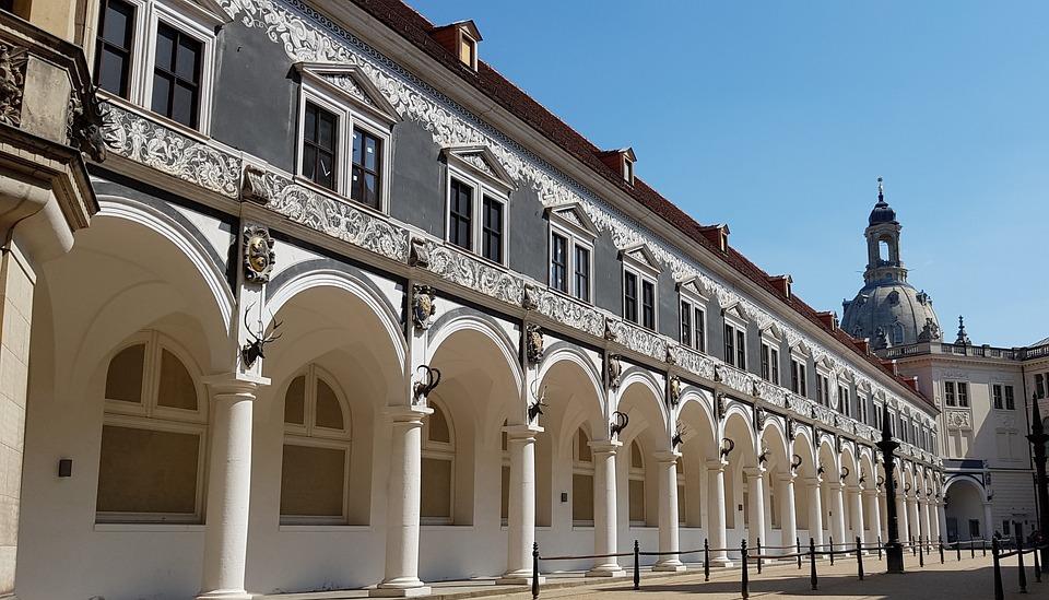 Museum, Dresden, Domplatz, Architektur, Gebäude